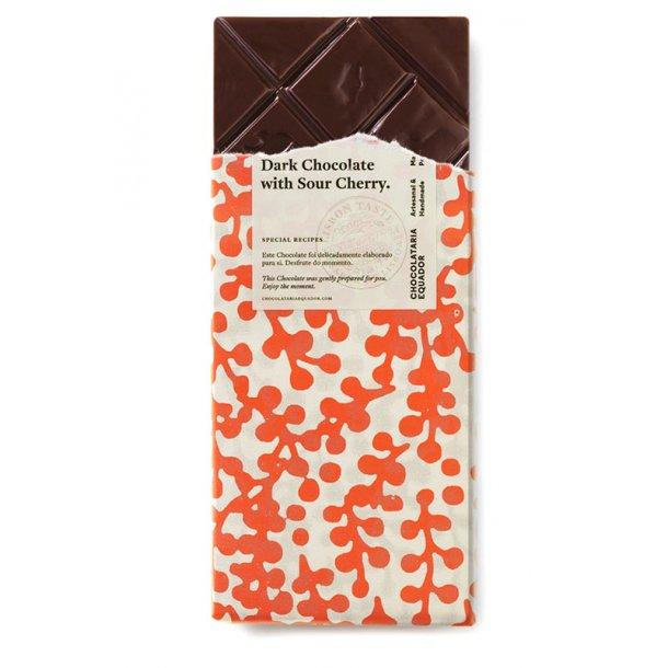 Mørk chokolade med Ginja