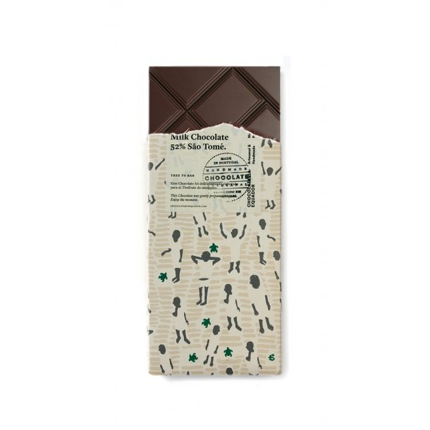 Mælkechokolade 52% São Tomé