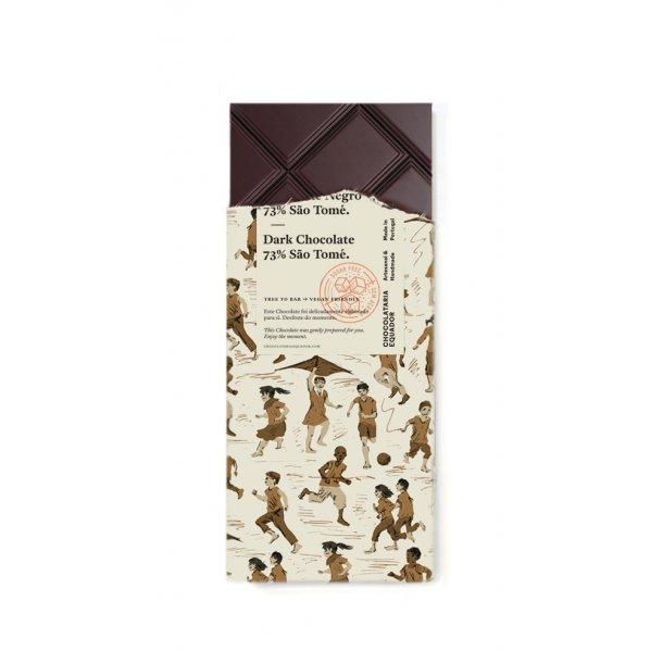 Mørk chokolade 73% São Tomé