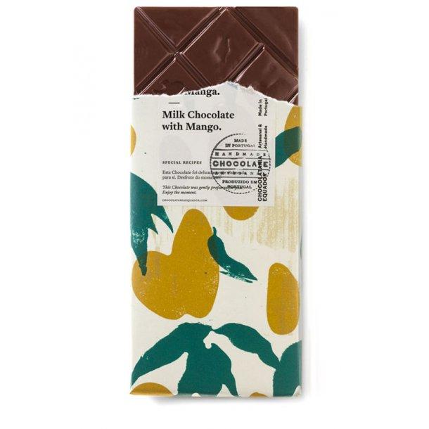 Mælkechokolade med mango