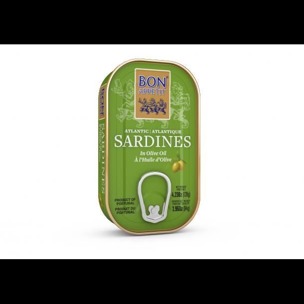Sardiner i Olivenolie