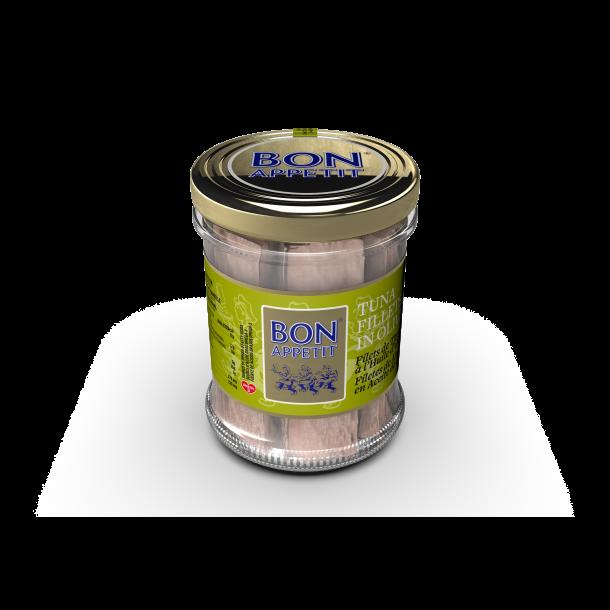 Tunfilet i Olivenolie