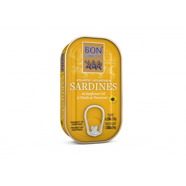 Sardiner i Solsikkeolie