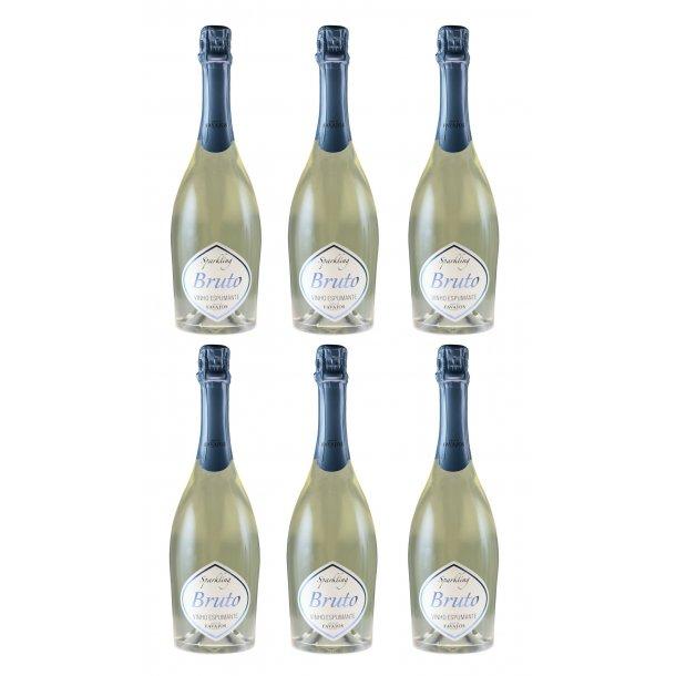 6 flasker Sparkling Moscatel - Afhentningstilbud