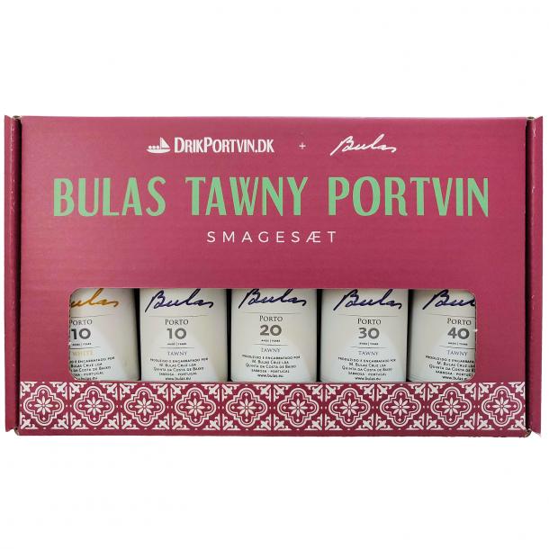 Bulas Tawny Portvin Smagesæt