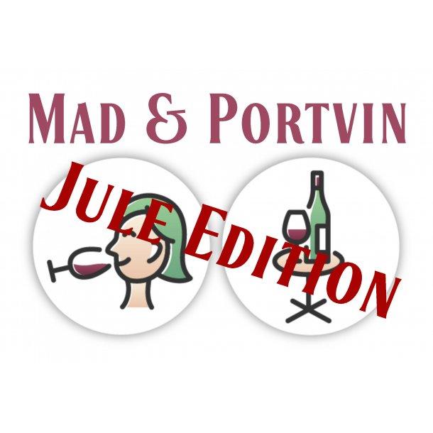 Mad og portvin - Jule edition 27. november 2021