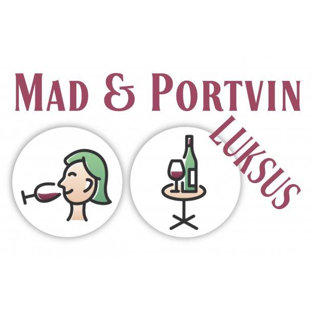 Mad og portvin - LUKSUS - København lørdag 6. november 2021