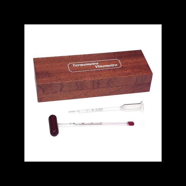 Termometer & Alkoholmeter